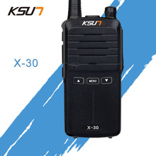 KSUN X-30 handheld walkie talkie 8 W high power UHF Handheld Twee manier Ham Radio Communicator HF Transceiver Amateur Handig