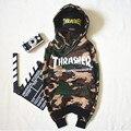 Хип-хоп мужчины женщины спортивная толстовки с капюшоном мужские графических пуловер с капюшоном мужчины трэшер скейтборд толстовка пигаль костюм