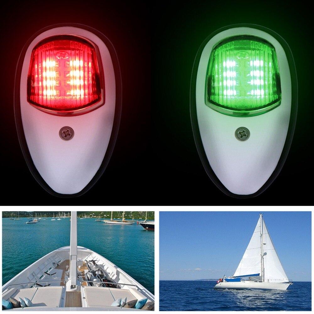 Us 2599 48 Off2 Sztuk łódź światło Nawigacyjne Podwodne światło Sygnał świetlny Greenred Marine Led Prawej Burcie I Po Stronie Portu światło Dla
