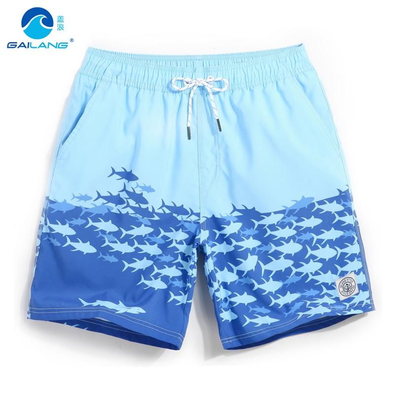 Board shorts men surfing swimsuit joggers mens swimming trunks stretch beach shorts running gym bermudas drawstring liner