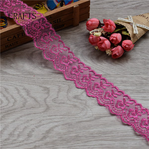 Image 3 - 10 yards  Lace Tape Embroidered Pure Lace Trimmed Cloth For Wedding Decoration Home DIY Handmade Embroidery Intimate Accessories