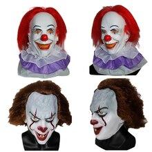 X-MERRY игрушка Pennywise Clown Маска Новинка 2017 года фильме его Маски для век классический страшно клоун masken