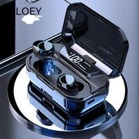 OLOEY ipx7 спц передовых водонепроницаемые наушники беспроводной связи Bluetooth наушник 5.0 цифровой дисплей