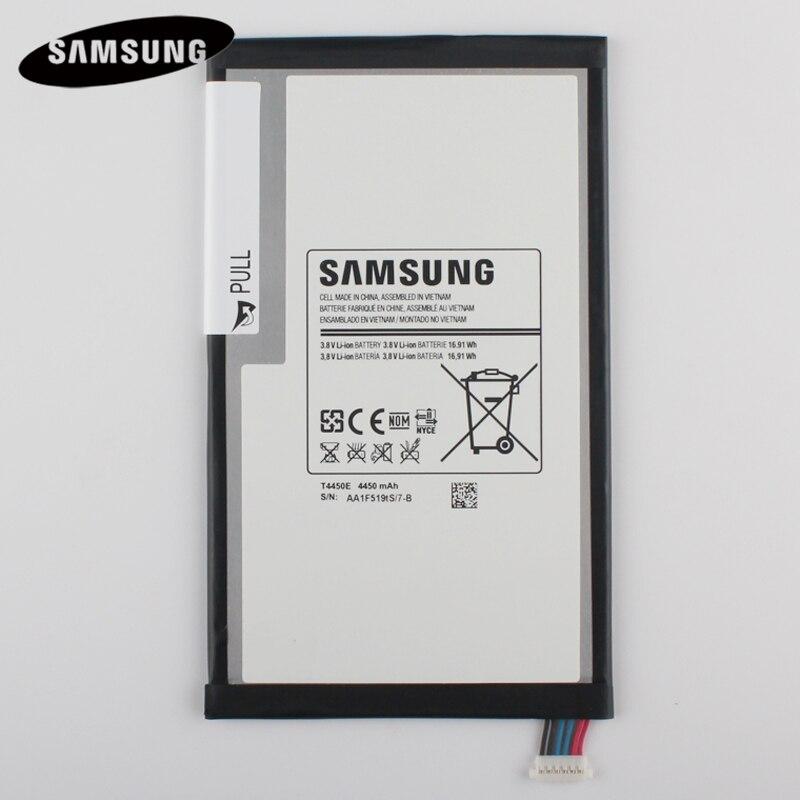 100% Original Tablet Batterie T4450E Für Samsung GALAXY Tab 3 8,0 T310 T311 T315 Echtes Ersatz Batterries 4450 mAh