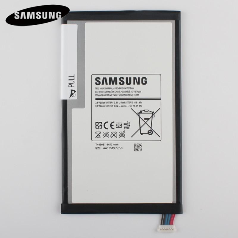 100% Originale Tablet Batteria T4450E Per Samsung GALAXY Tab 3 8.0 T310 T311 T315 Batterries 4450 mAh di Ricambio Originali