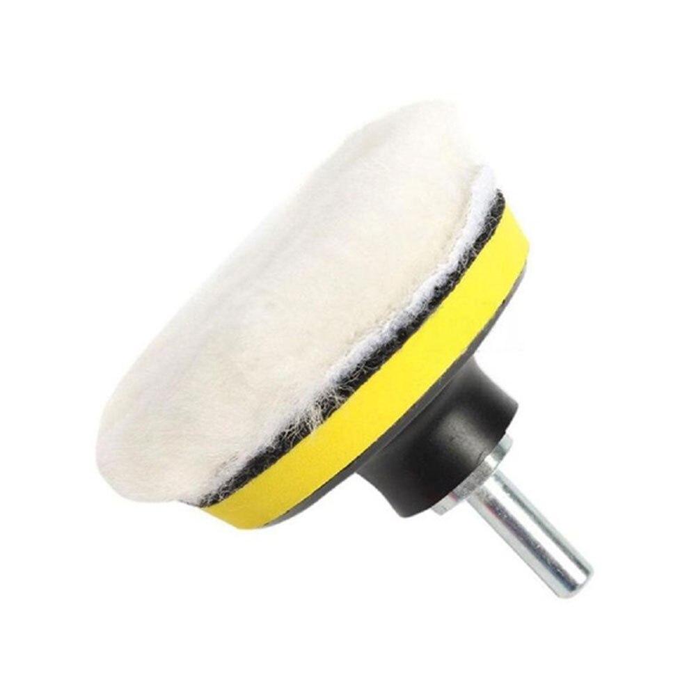 Vehemo 4 дюймов полирующая пена Автомобильная Губка для полировки комплект для ваксации Pad комплект для колеса комплект Губка для полировки портативный шлифовальный прибор буфер авто