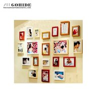 FREE SHIPPING DIY PHOTO FRAME WALLThickening Dweh Heart Photos Wall Photo Frame Photo Frame Combination Of