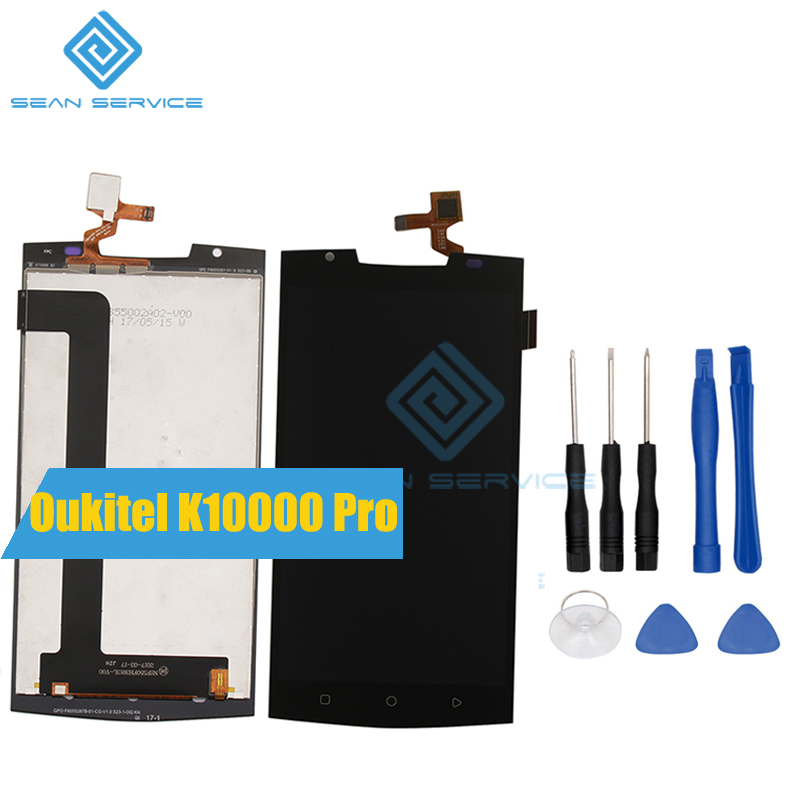 For Oukitel K10000 Pro Mobile Phone LCD Display TP Touch Screen Digitizer Assembly Tools 5 5