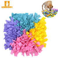 HORBONPY Pet Dog Sniffing Mat Find Food Training blanket Play Toys Dog Mat For Slow food Puzzle Sniffing Mat Pad Can be stitched