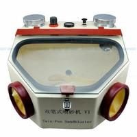 2016 NEW High Quality 220V Sandblaster Machine For Jewelry Dental Lab Sandblaster Sand Blaster