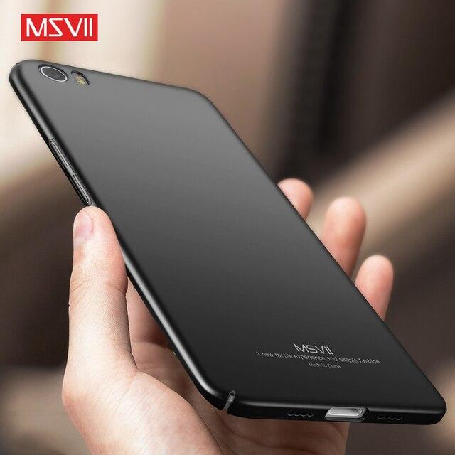 Msvii for Xiaomi Mi5 Case for Xiaomi Mi5 s Mi5 pro Mi5s Mi 5s Mi 5 Cases Smart 360 Black Phone Hard Thin Glossy Xiomi Back Cover