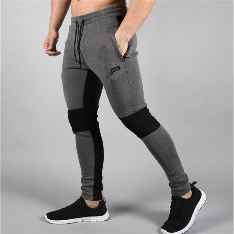 13a5d3654ab 2018 Men's Jogger Brand Casual Pants Fitness Men's Trousers Muscle Brothers  Exercise Men's Pants Men's Pants Fitness trousers-in Skinny Pants from Men's  ...