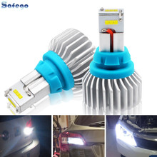 Safego T15 T16 T20 90W Reverse Lights CSP 9-SMD 5400LM Car LED Backup Lamp Canbus Error Free 12V headlight 6500K
