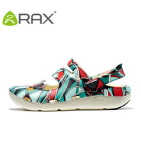Rax Men Clogs Beach Slippers Summer For Women Garden Shoes Mule Clogs Fashion Candy Color Adult