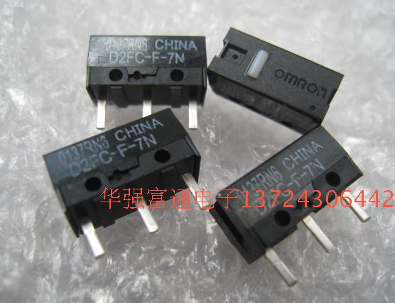 10pcs Authentischer OMRON Maus-Mikroschalter D2FC-F-7N Mausknopf Fretting neu.