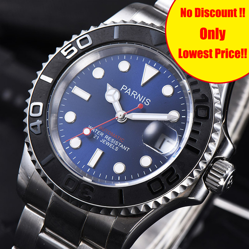 Parnis Mechanical Automatic Men Watch Diver Tritium Miyota 8215 Mens Watches Sapphire mekanik erkek kol saati reloj automaticoParnis Mechanical Automatic Men Watch Diver Tritium Miyota 8215 Mens Watches Sapphire mekanik erkek kol saati reloj automatico