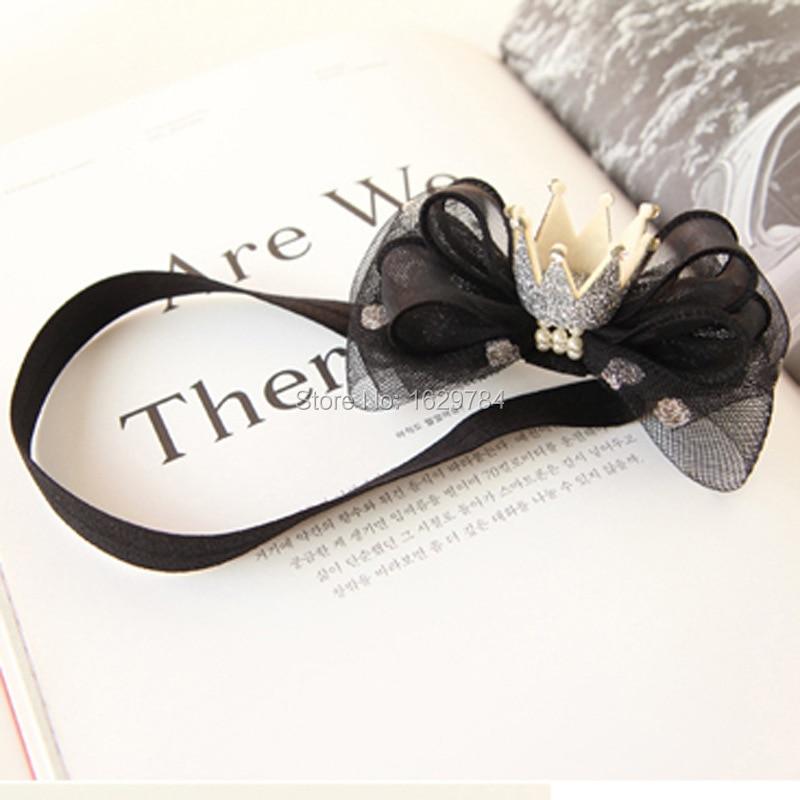10stk Mode Glitter 3D Gemstone Tiaras Piger Hårbånd Solid Cute - Beklædningstilbehør - Foto 4