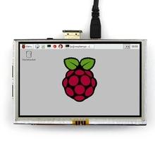 5 inç LCD HDMI dokunmatik ekran TFT LCD Panel modülü 800*480 muz Pi ahududu Pi için 4B ahududu pi 3 Model B / B +