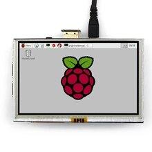 5 pollici LCD HDMI Display Touch Screen TFT LCD Modulo del Pannello di 800*480 per Banana Pi Raspberry Pi 4B raspberry Pi 3 Modello B / B +