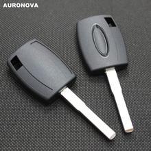 AURONOVA para Ford Focus Fiesta Chave Substituir Shell Remoto Chave Do Carro Com Lâmina Sem Cortes