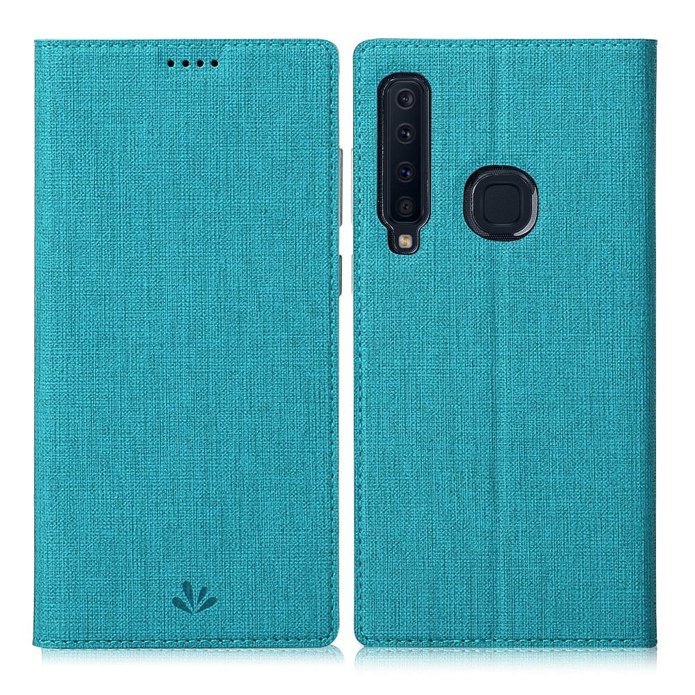 Para Samsung Galaxy A7 A9 2018 A70 Protective Phone Case Soft Leather flip Completa Capa S10 S10 Plus A6 A30 a50 A60 Bumper Tripas