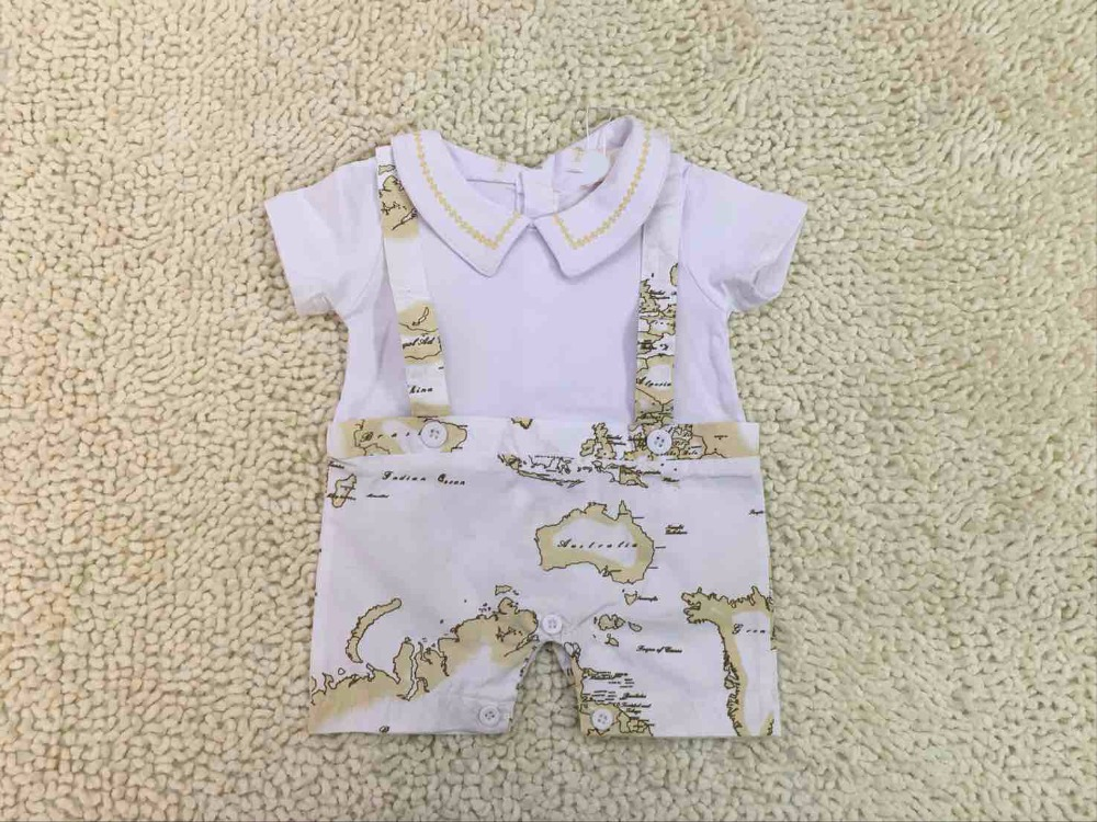 Retail Fashion high quality Brand Baby   rompers   newborn clothing Baby clothes jumpsuit for baby   romper   2019 summer