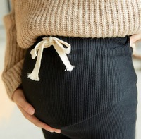 New High Waist Belly Skinny Winter Warm Fleece Maternity Pants Fashion Pencil Clothes for Pregnant Women Slim Pregnancy Legging