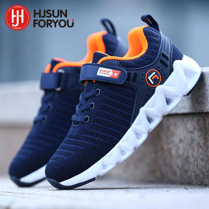 2019 Spring Autumn Brand Children Shoes Non-slip Kids Running Shoes Boys Fashion Breathable Sneakers Girls Casual Sports Shoes