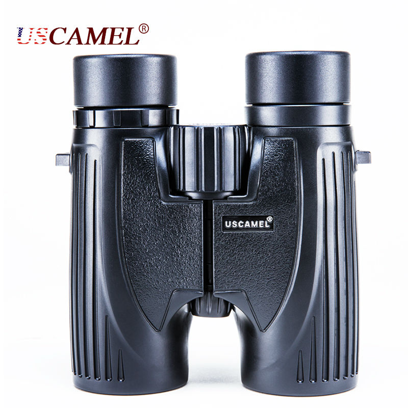 USCAMEL HD Clear 8x32 font b Binoculars b font High Quality Optics BAK4 Professional Telescope 384ft