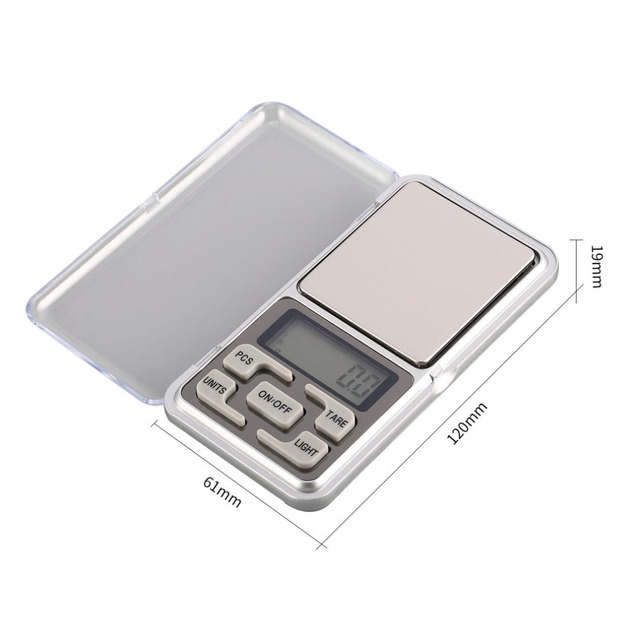 Mini Digital Pocket Scale 1000g 0.1g Precision g/tl/oz/ct/gn Weight Measuring for Kitchen Jewellery Gold Tare Weighing 5