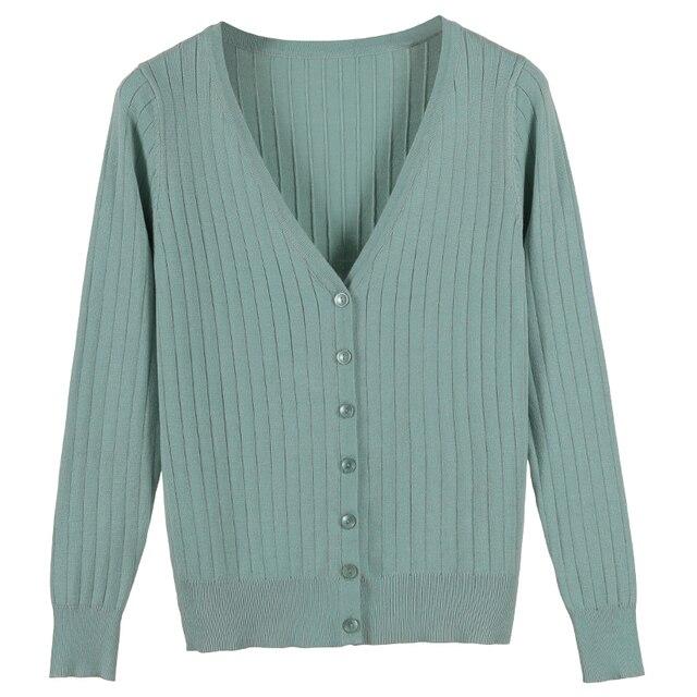2019 Herfst Nieuwe Vrouwen Gebreide Vest Fashion V-hals Lange Mouwen Solid Vest Trui Enkele Knop Casual Gebreide Jas PZ624