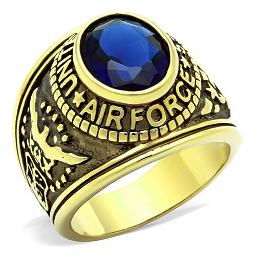 LAN PALACE Official Store lan palace original  stainless steel rings for men  precious Stone jewelry ring vintage ring free shipping