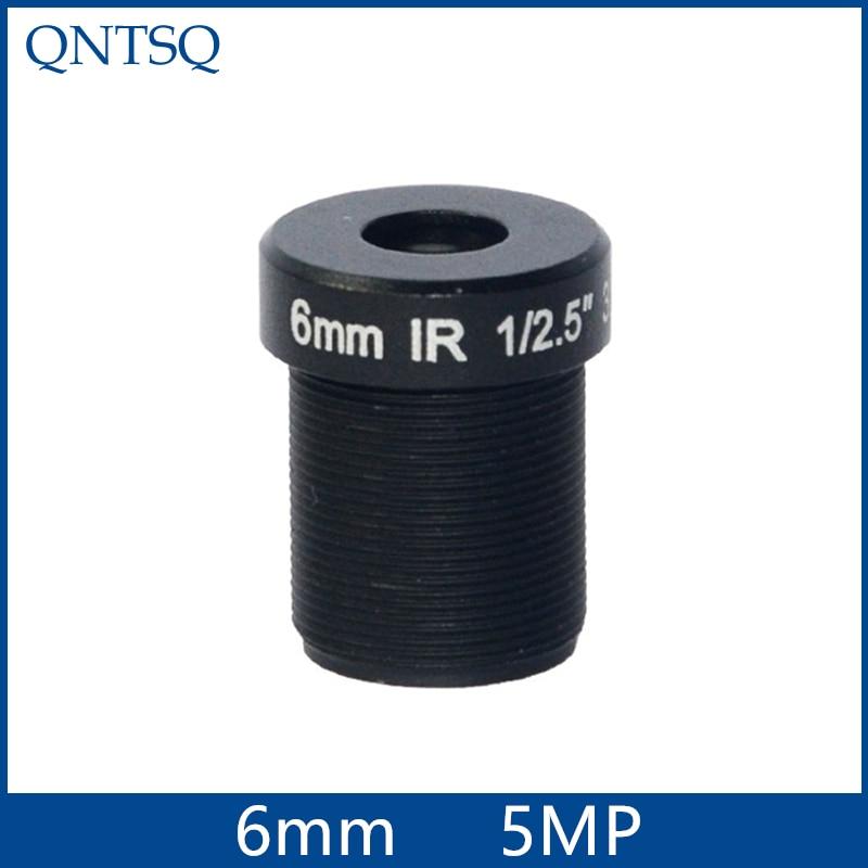 5MP cctv camera lens6mm Fixed Iris lens, 1/2.5