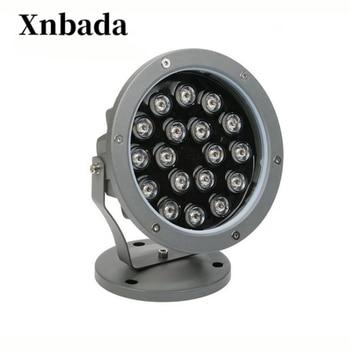 9 W 18 W LED Impermeabile Rotonda Super Bright COB Luce di Proiezione Lampada Esterna Del Prato Inglese, giardino di Paesaggio Spike Faretti