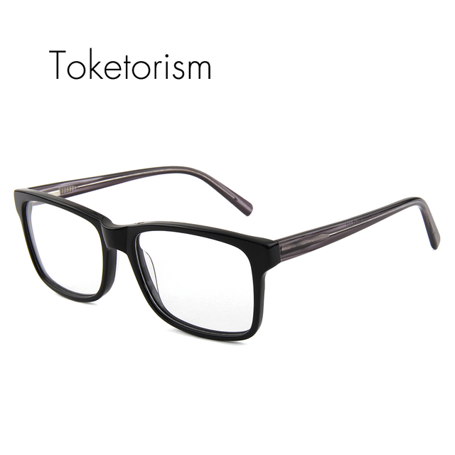 High end Coreano projeto retângulo quadro com lentes claras óculos retro homens mulheres 2611F espetáculo óptico