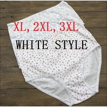 af2591c37 XL XXL XXXL Women s plus size underwear cotton panties for fat ladies  briefs 5pcs lot