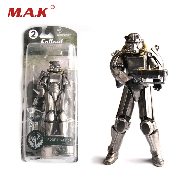 """Two Colors Fallout 4 PVC Action Figure 8"""" Power Armor Out"""