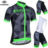 Siilenyond Maillot Bicycle Wear Cycling Set Summer Cycling Clothing Ropa Ciclismo MTB Bike Clothing Racing Cycling