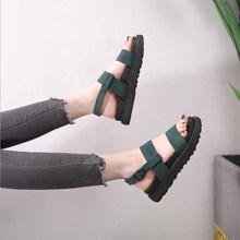 лучшая цена Summer White Wedge Espadrilles Women Sandals Open Toe Gladiator Sandals Women Casual Lace Up Women Platform Sandals
