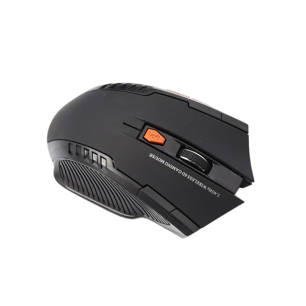 20 pièces/sac chaud Mini 2.4 GHz souris optique sans fil Gamer pour PC ordinateurs portables de jeu nouveau jeu souris sans fil avec récepteur USB - 2