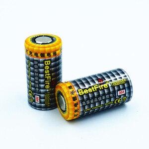 Image 3 - 2 pcs Bestfire 1500 mAh 18350 3.7 V ליתיום נטענת סוללה 30A לסיגריה אלקטרונית Vape Mech Mod E צינור b012 כלים B025
