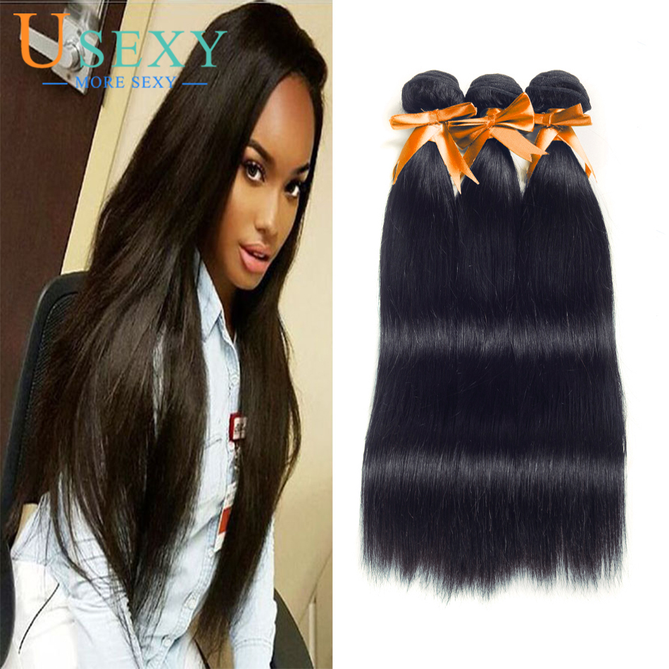 Usexy Diamond Indian Straight Virgin Hair Extension 8a 100