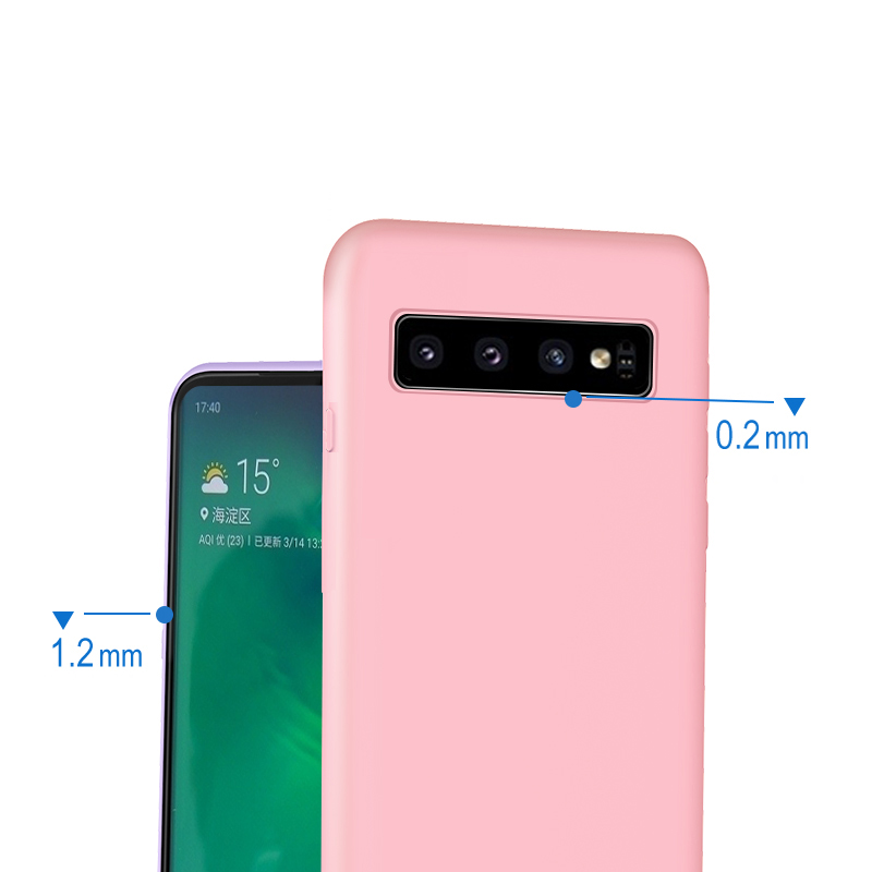 For Samsung Galaxy S8 S9 S10 Plus Case Soft Silicone Cover Shockproof Case for Samsung Note 8 9 A30 A50 A70 M10 M20 Case Cover in Fitted Cases from Cellphones Telecommunications