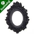 2013-2014 30*40 ММ Овальный Смола камея установка, Черный; 30*40 мм Кабошон/фото/Камея; продается 20 шт. в упак