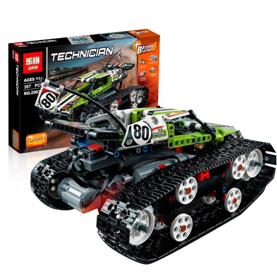 ФОТО New Lepin 20033 Technic Series The RC Track Remote-control Race Car Set Building Blocks Bricks Educational Toys 42065
