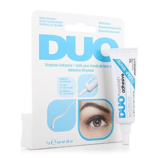 2014 Promotion Time-limited Free Shipping Eg02 Waterproof Duo Eyelash Glue White Tone Adhesive False 7ml