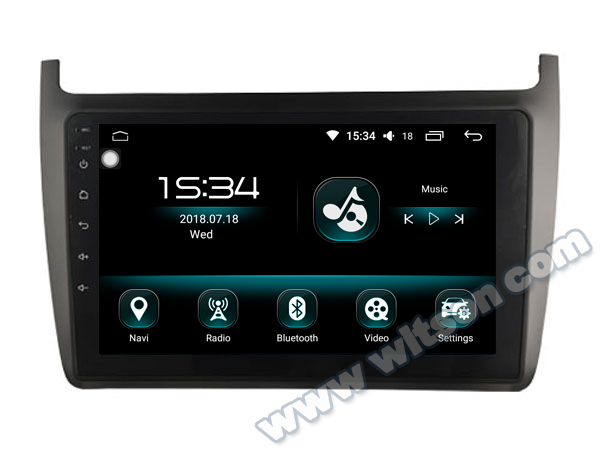 "WITSON Android 8.0 9"" CAR DVD PLAYER GPS For VOLKSWAGEN POLO 2012-2012 car Radio video player AUDIO SYSTEM WITH GPS CAR AUDIO"