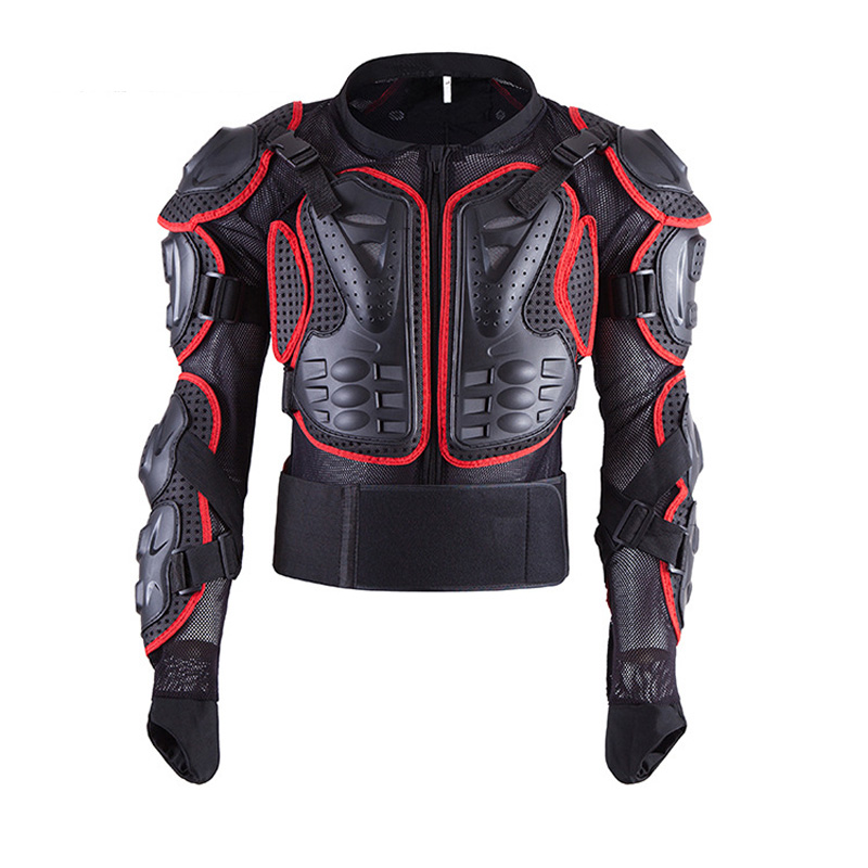 Motorcycle Jackets Full Body Protection BLACK RED ARMOR Turtle Moto Jackets Men Motorcycle Gear Motocross Clothing GP Bike Cloth kinston i love you patterned pu leather full body case w stand for motorola moto g black red