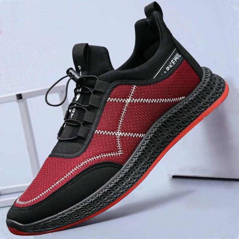 Мужская обувь новая мужская повседневная обувь дышащие сетчатые мужские кроссовки модные кроссовки мужская обувь для взрослых кроссовки м...