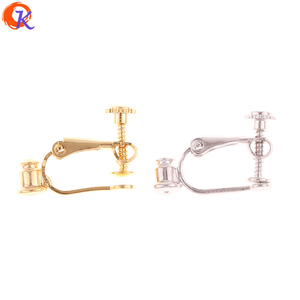 Image 1 - Cordial Design 50Pcs 13*21mm Earring Findings/Earring Back/DIY/Real Gold Plating/Copper/Hand Made/Jewelry Findings Components